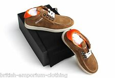 DSQUARED2 DS2 Brown Suede Trainers Shoes EU41 / UK7 / USA8 BNIB