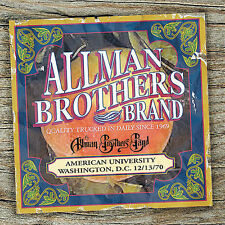 American University 12/13/70 by The Allman Brothers Band (CD, Jul-2005,...