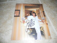 """Joan Collins Sexy Signed Autographed 7.25""""x9.25"""" Book Photo #8 PSA Guaranteed"""