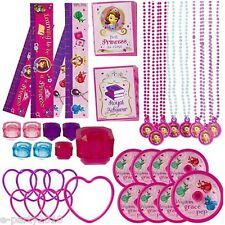 SOFIA THE FIRST FAVOR PACK (48pc) ~ Birthday Party Supplies Toys Prizes Disney