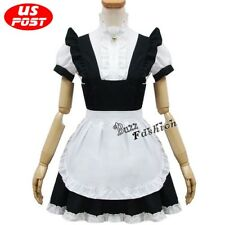 The Maid Outfit Dress Fancy Cat Woman Costume Lady Style Lolita Skirt Halloween