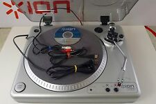 ION_USB Turntable_TTUSB 10_Digitize and edit vinyl records_PC/Mac compatible