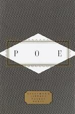 Everyman's Library Pocket Poets: Poe by Edgar Allan Poe (1995, Hardcover)