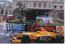 RALF SCHUMACHER HAND SIGNED BENSON & HEDGES JORDAN F1 6X4 PHOTO 2.