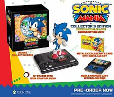 "Sonic Mania: Collector's Edition - Xbox One XBOne PREORDER 5/31 with 12"" Sonic"