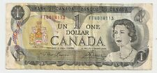 Bank of Canada ~ One Dollar Bank Note ~ FT4014113