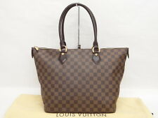 Auth Louis Vuitton Hand Bag Tote Saleya MM Damier France 0 Ship 15130464700 S27F