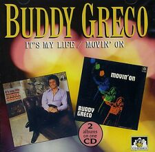 """Buddy Greco - It's My Life / Movin' On CD """"NEW & SEALED"""" 1st Class Post From UK"""