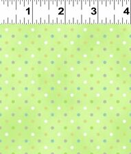 Guess How Much I Love You Green with Polka Dots Fabric FQ + More  100% Cotton