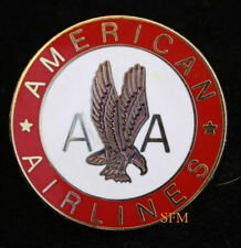 AMERICAN AIRLINES EAGLE  LAPEL HAT PIN AA LOGO PILOT Stewardess Aircrew GIFT WOW