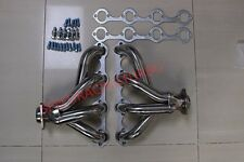 Small Block Ford Headers stainless steel mustang hugger 5.0 exhaust 302 289 351w