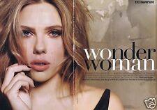 Coupure de presse Clipping 2012 Scarlett Johansson   (6 pages)