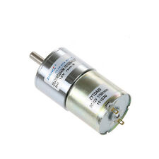 15KG.CM Speed Reduce Motor Electrical 6mm Dia DC 12V 5RPM