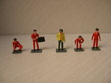 Promod 1/43 Racing Figures Historic  Le Mans Formula 1 Ref SET 1 RED