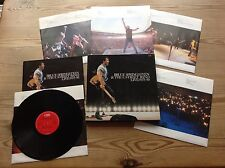 BRUCE SPRINGSTEEN & THE E STREET BAND LIVE 1975-1985 5LP BOXSET+BOOKLET N/MINT