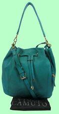 VINCE CAMUTO KNOX Drawstring Ivy Leather Shoulder Bag Msrp $298.00