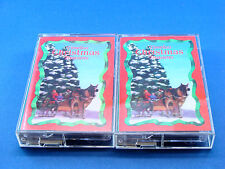 TIMELESS CHRISTMAS TREASURES - 2 Tape Box Set - NEAR MINT - Assorted Stars