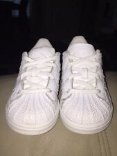Used Adidas Originals Superstar I White Sneaker Toddler Size 8c