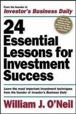 24 Essential Lessons for Investment Success : Learn the Most Important...
