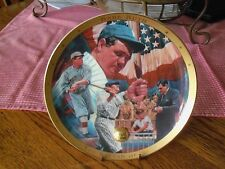 The Legendary Babe Ruth Plate The Sultan of Swat  Limited Edit  Royal Daulton