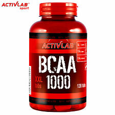 BCAA 1000 120Tablets Amino Acids Muscle Growth Anabolic Anticatabolic Supplement