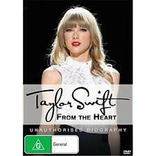 TAYLOR SWIFT:From The Heart(Unauthorised Biography)-Region 4-New AND Sealed