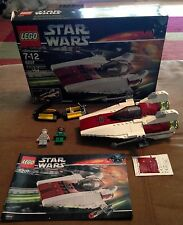 6207 A-WING FIGHTER star wars lego legos set COMPLETE box instructions