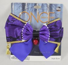 New Disney Once Upon A Time Evil Queen Costume Cosplay Hair Bow Pin Clip Barette