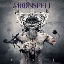 Moonspell - Extinct CD+DVD 2015 digibook gothic metal Napalm Records