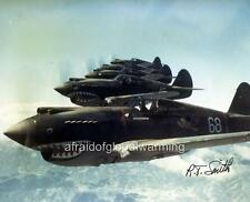 Old Photo.  WW2.  Hells Angels Aircraft - Flying Tigers