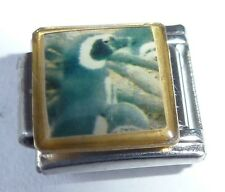 PENGUIN Italian Charm PE17 - fits ALL 9mm Classic Starter Bracelets - Cute Bird