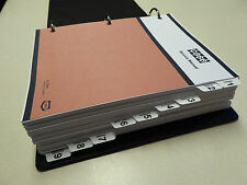 Case W14 Articulated Loader Service Manual Repair Shop Book NEW with Binder