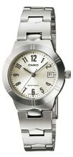 Casio LTP1241D-7A2 Women's Metal Fashion with Date Silver Dial Analog Watch