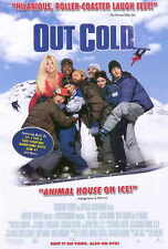 OUT COLD Movie POSTER 27x40 Jason London Willie Garson Lee Majors A.J. Cook