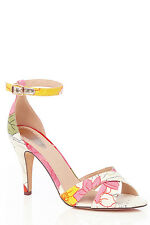 Oasis White Flower Print Kylie Sandals 41