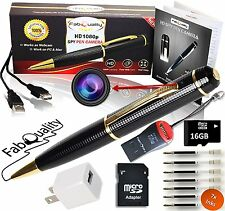 Primium Spy Pen 1080p Hidden Camera Real Surveillance HD Camera Record DIY Video