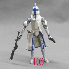 "Star Wars COLLECTION the clone wars CLONE TROOPER Action Figure  w gun 3"" d6"
