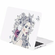 "Vector Dreaming Girl Rubberized Case for Macbook Pro 13"" w/ Retina A1425/A1502"