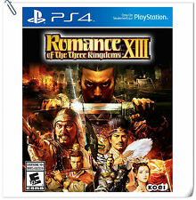 PS4 Romance of the Three Kingdoms XIII ENG / 三國志13 中文版 SONY Strategy Games Koei