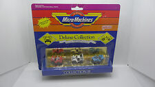 Micro Machines Deluxe Collection III Mustang SVO Cobra Camaro Z-28