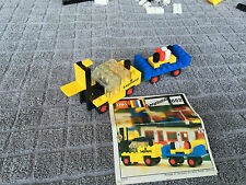 [LEGO-652] - Legoland Fork Lift Truck and Trailer 100% Complet avec Notice