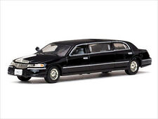 2000 LINCOLN TOWN CAR LIMOUSINE LIMO BLACK 1/43 DIECAST CAR MODEL VITESSE 36311