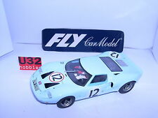 FLY COLECCION CRIN FORD GT40 MKII #12 24H.LE MANS 1966 MINT UNBOXED LTED.ED.