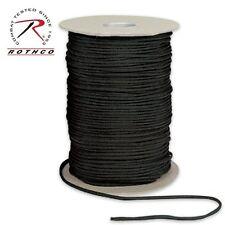 301 Rothco Nylon Paracord 550lb 600 Ft Spool - Black