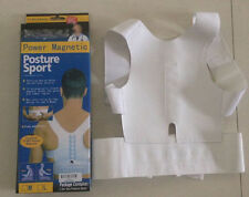 Magnet Corrector Brace Belt Therapy Adjustabl Back Posture Shoulder Supports