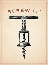 Screw It! small steel sign (og 2015)