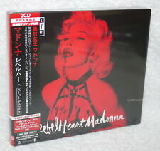 Madonna Rebel Heart Super Deluxe Edition Japan 2-CD w/OBI(LIVING FOR LOVE REMIX)