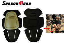 Emerson Military Airsoft Tactical Combat V3 Protective Set Gear Knee Pad Tan