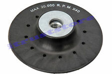 "Replacement 5"" Angle Grinder Backing Pad for Resin Fiber Sanding Sander Discs"