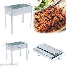 Foldable Folding Charcoal BBQ Barbecue Portable Camping Outdoor Garden Grill